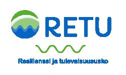 Logo: RETU - Resilienssi ja tulevaisuususko -hanke