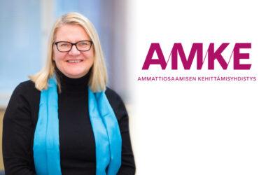 Rehtori Tiina Meriläinen AMKE:n hallitukseen