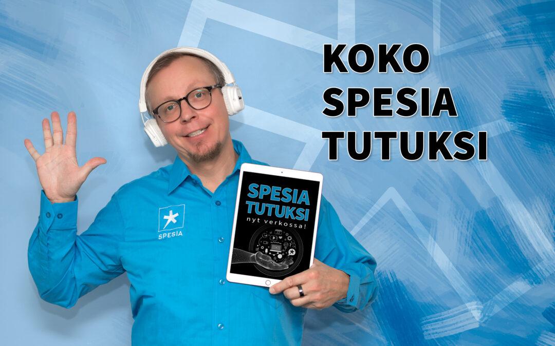 Koko Spesia tutuksi -video nyt katsottavissa