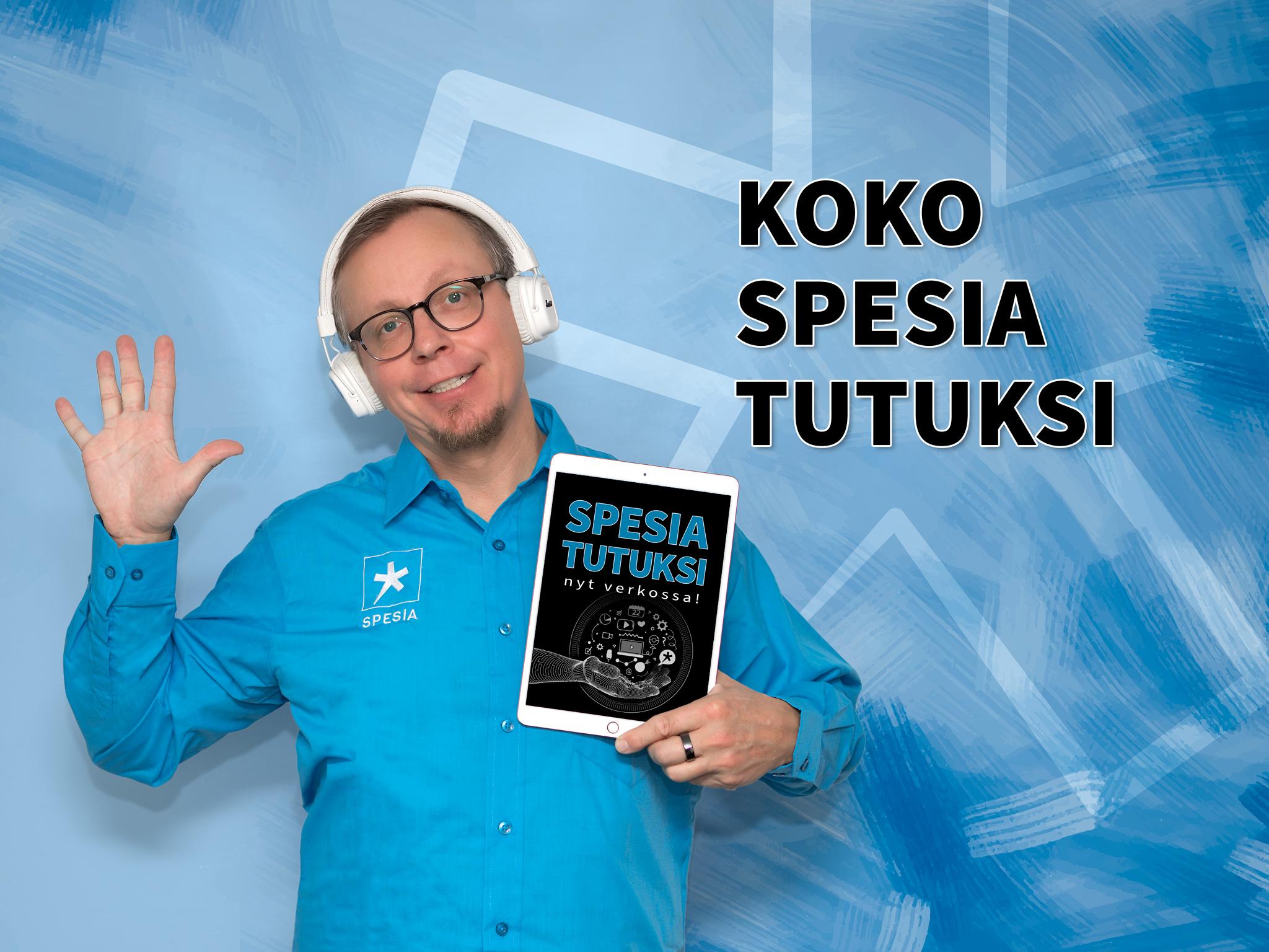 Koko Spesia tutuksi - moikkauskuva