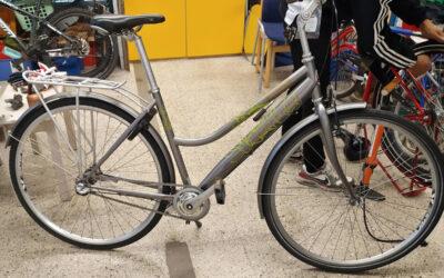 Kierrätysmyllyn lahjoituspyörät kuntoon Spesian polkupyöräkorjaamon voimin