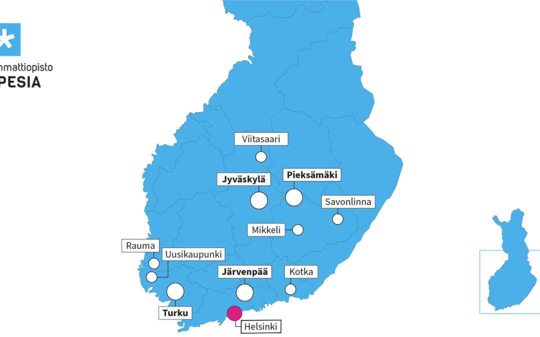 Spesia saapuu Helsinkiin – opiskelijahaku käynnissä