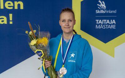 Spesian Kaisa Pölkki otti pronssia Taitaja2021-kisoissa